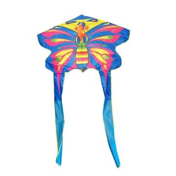WIDE WINGSPAN KITE with LINE and HANDLE childrens flying toy